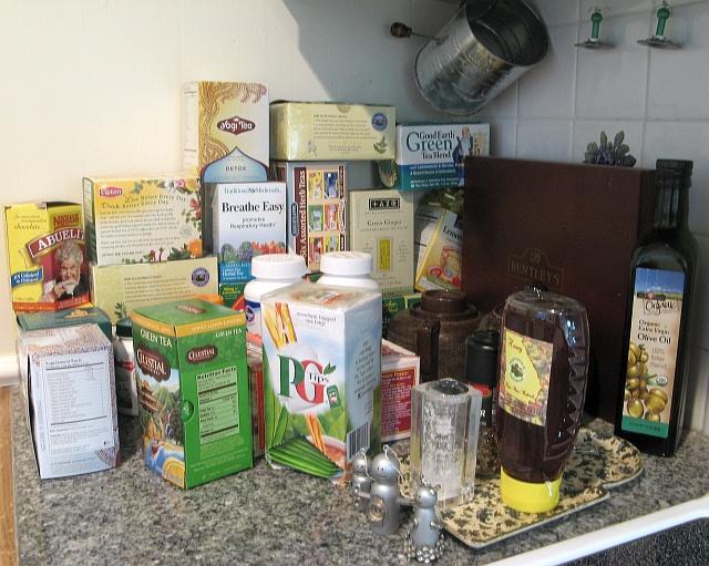 Pile of Teas