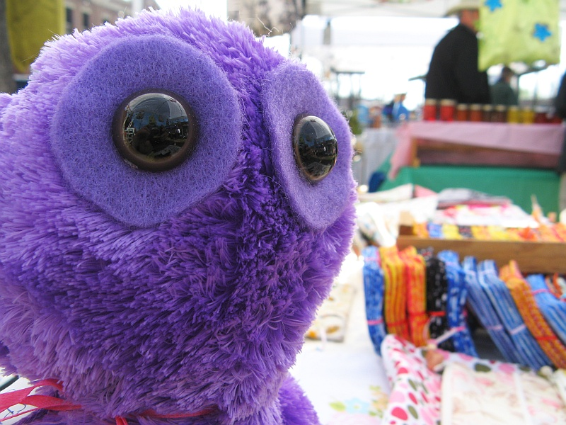 Creatures at the market