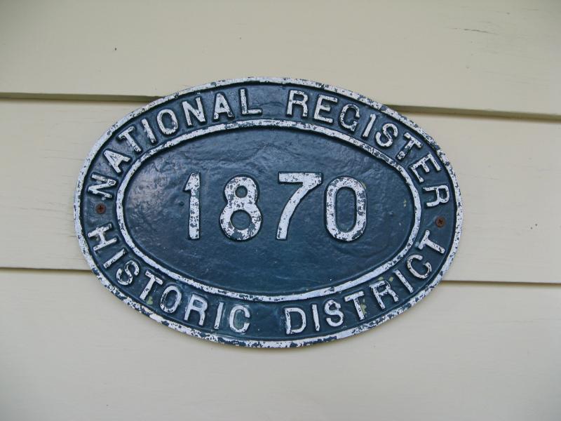 National Register Historic District 1870