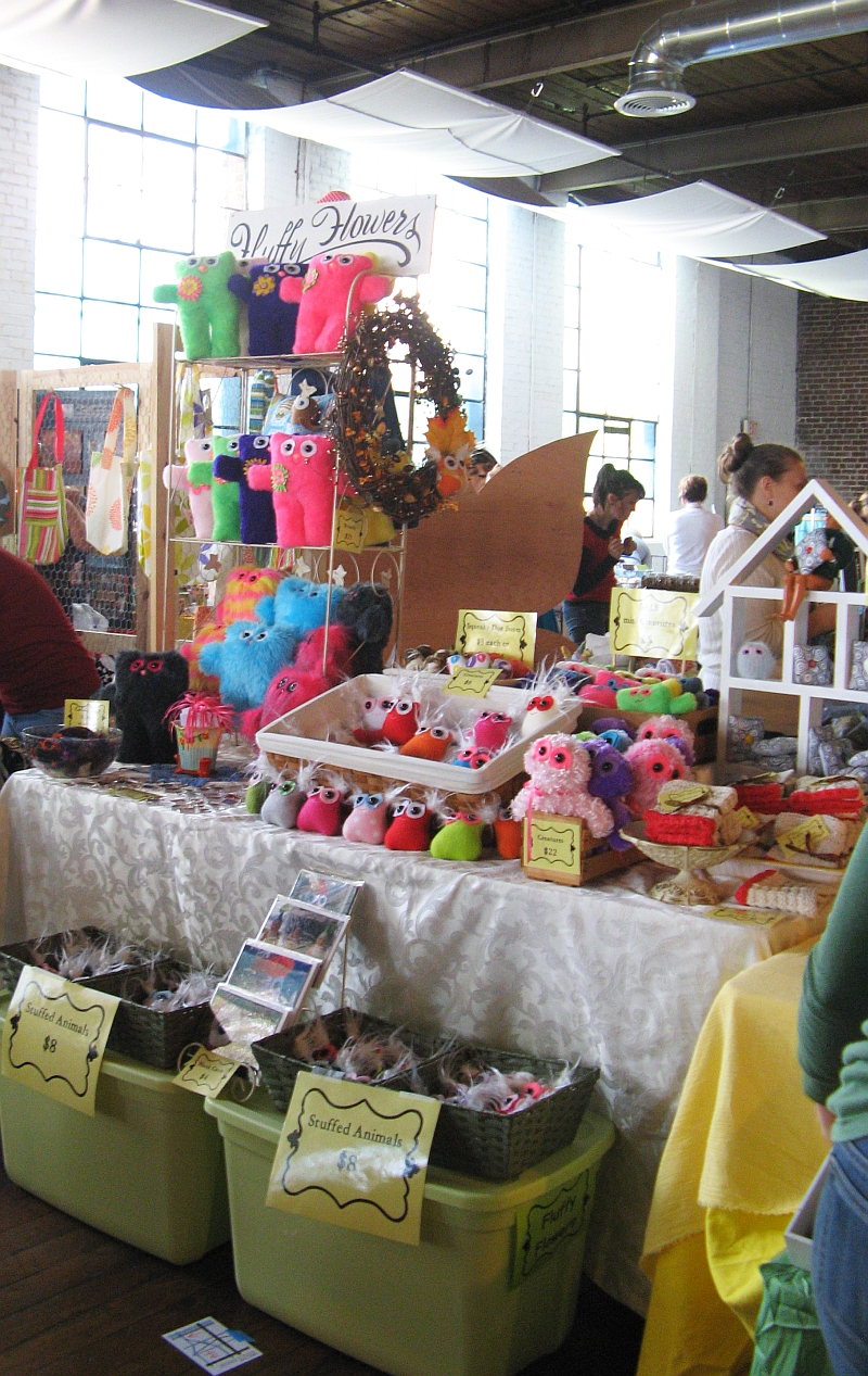 Fluffy Flowers booth ICE Atlanta