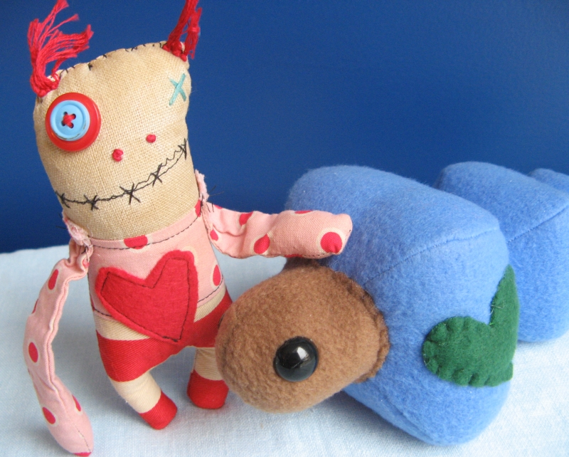Maggot and Monster f