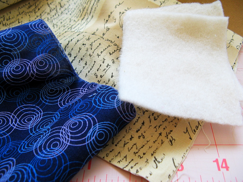 Materials for plush book