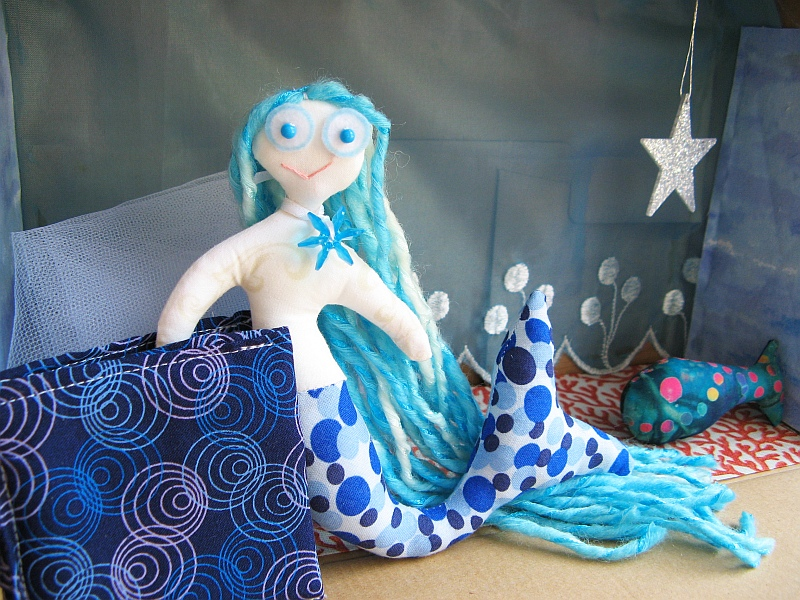 Mermaid Box Closeup