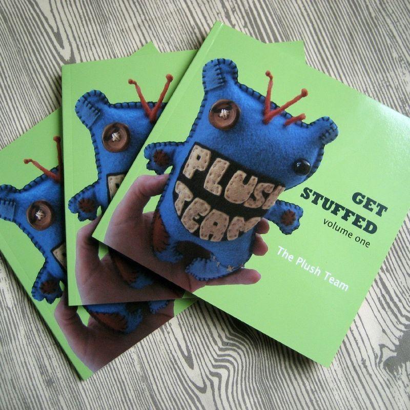 Plush Team book Get Stuffed