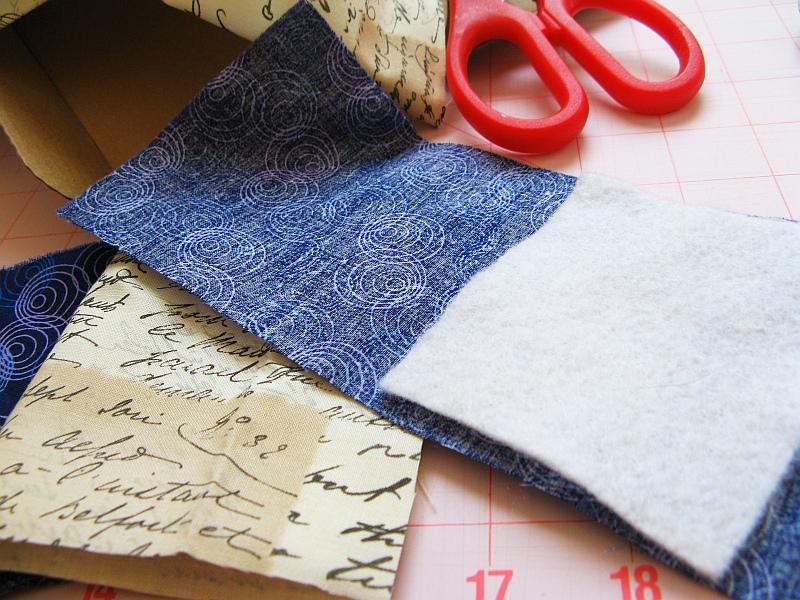 Make a plush book