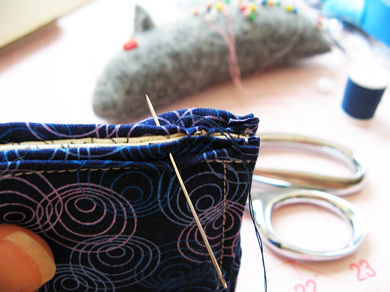 Sew plush book binding
