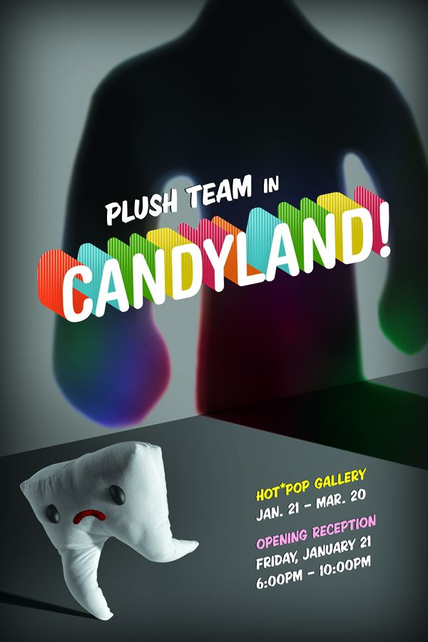 Plush Team in Candyland Gallery show