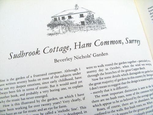 The Englishman's Garden by Rosemary Verey Beverley Nichols