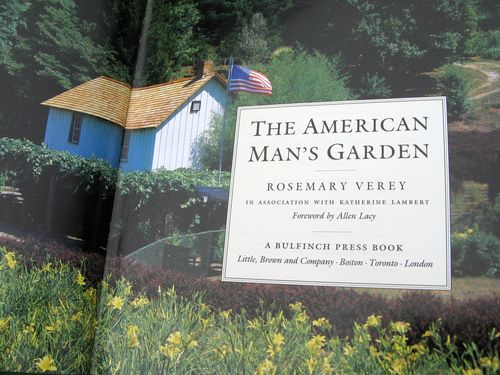 The American Man's Garden by Rosemary Verey