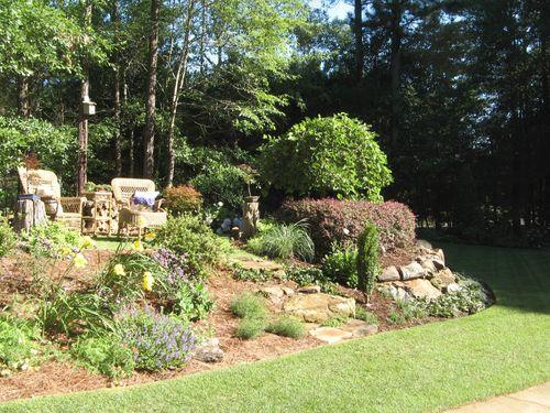 Henry County Georgia Garden Tour 2012 patio