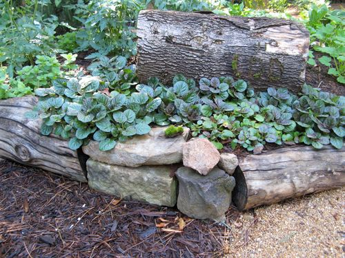 Henry County Georgia Garden Tour 2012 raised bed closeup