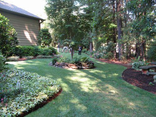 Henry County Georgia Garden Tour 2012 backyard beds