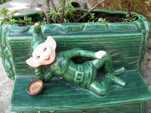 Green pixie planter