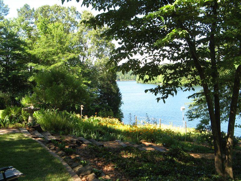 Dow Lake Henry County Georgia Garden Tour 2012 lakeside