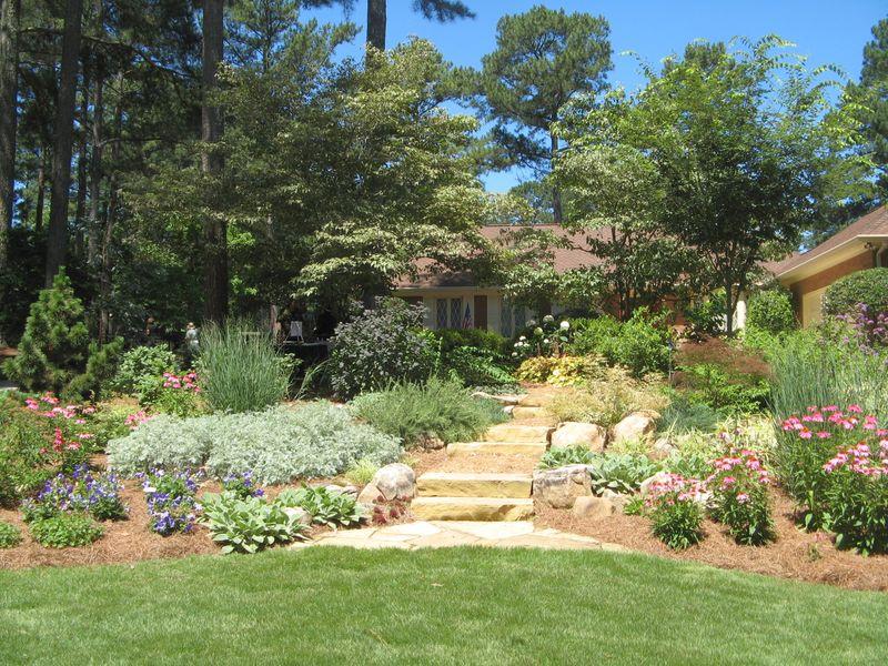 2012 Henry County Georgia Garden Tour front garden