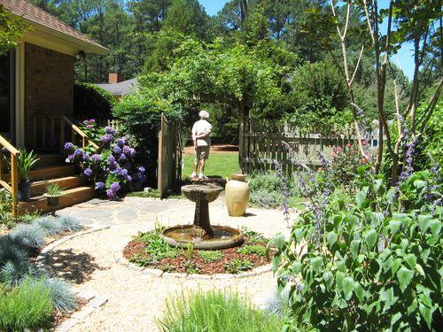 2012 Henry County Georgia Garden Tour courtyard