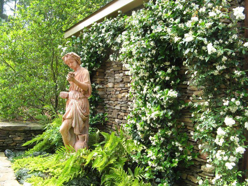 Athens Garden Tour 2012 statue