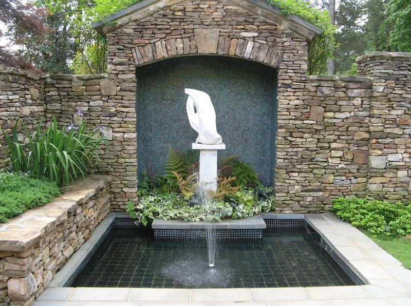 Athens Garden Tour 2012 waterfountain