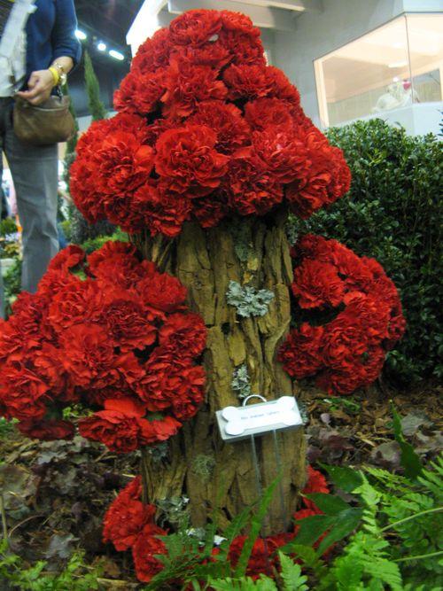 Southeastern Flower Show Atlanta 2013 red carnation fire hydrent