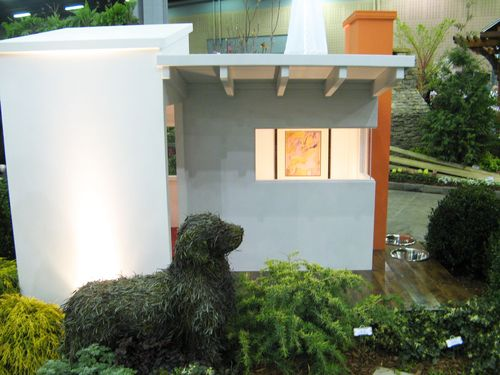 Southeastern Flower Show Atlanta 2013 Old Dog New Tricks doghouse