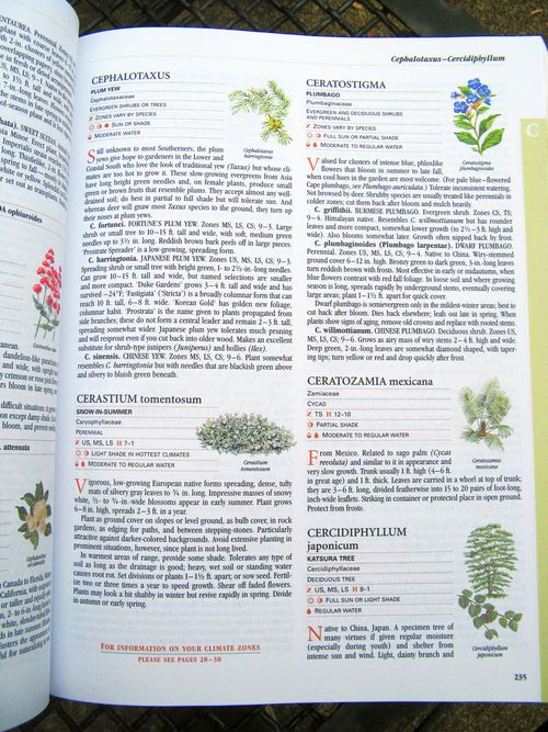 Southern Living Garden Book sample page