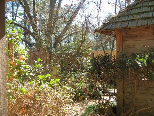 Massee Lane Camellia Gardens Japanese Garden front entrance