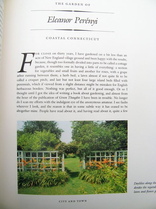 The American Woman's Garden by Rosemary Verey Eleanor Perenyi