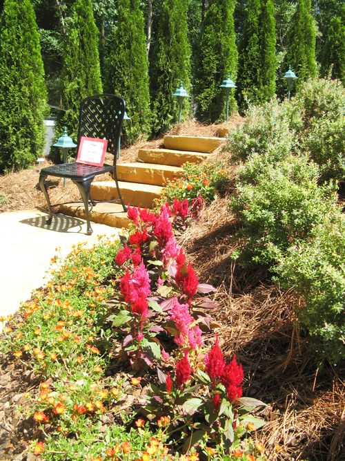 Garden Tour Henry County Georgia 2012 stairs