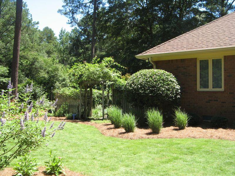 2012 Henry County Georgia Garden Tour backyard