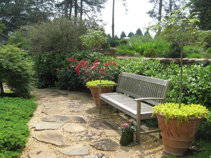 Athens Garden Tour 2012 courtyard