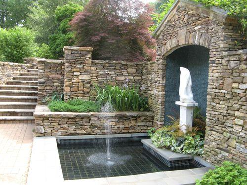 Athens Garden Tour 2012 fountain