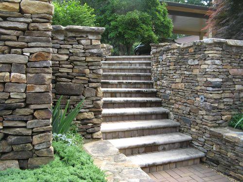Athens Garden Tour 2012 stone stairs