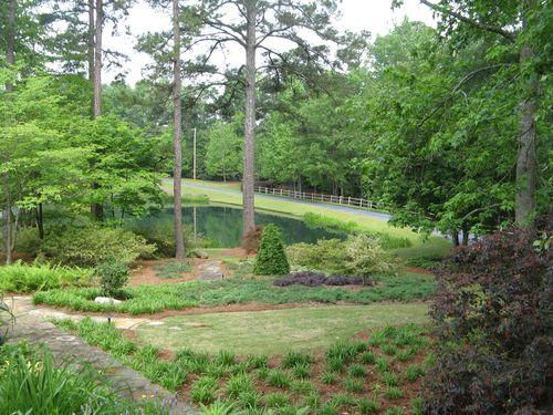Athens Garden Tour 2012 pond