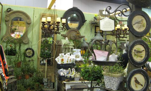 Southeastern Flower Show Atlanta 2013 french country booth
