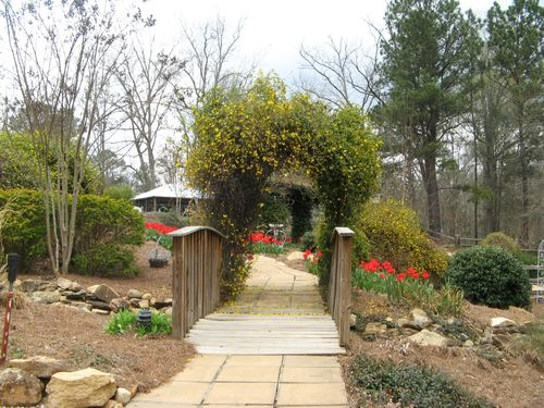 Indian Springs Georgia Whimsical Garden bridge