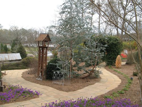 Indian Springs Georgia Whimsical Garden another overlook
