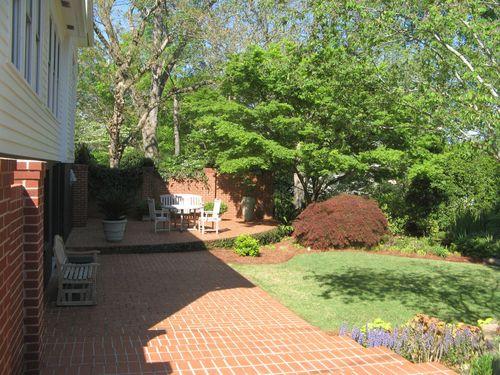 Athens Georgia Garden Tour 2013 backyard