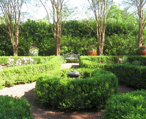 Athens Georgia Garden Tour 2013 parterre garden