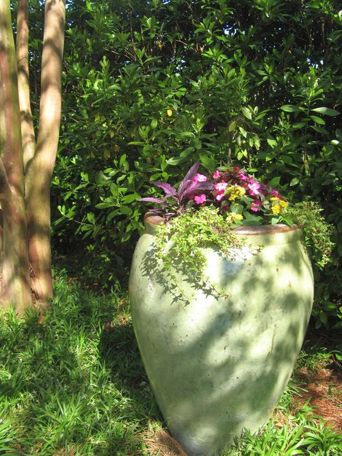 Athens Georgia Garden Tour 2013 potted urn