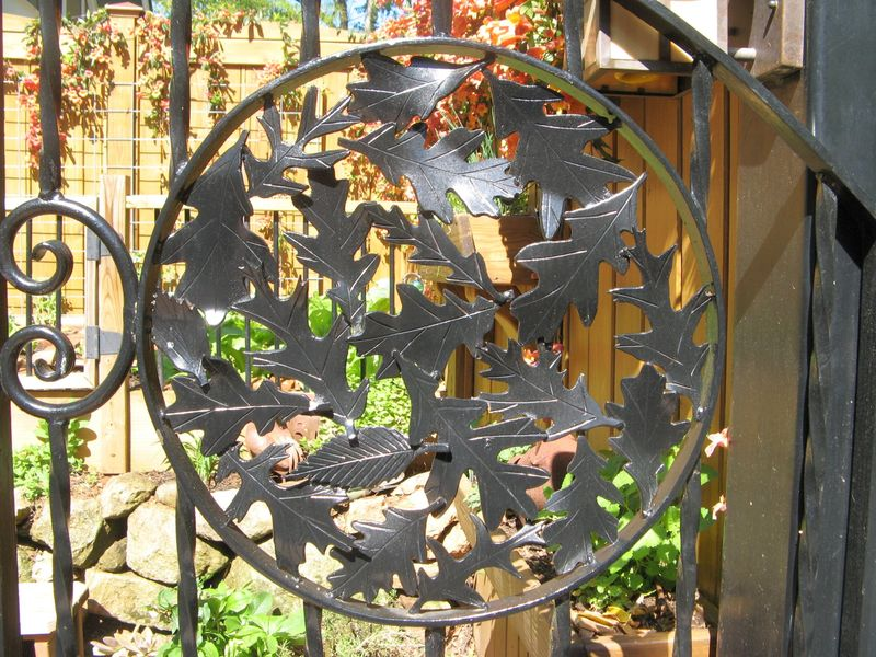 Athens Georgia Garden Tour 2013 iron gate