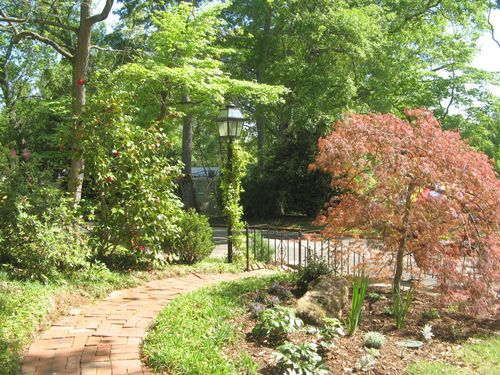 Athens Georgia Garden Tour 2013 front yard