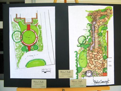 Athens Georgia Garden Tour 2013 garden plan