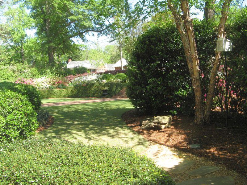 Athens Georgia Garden Tour 2013 side front garden