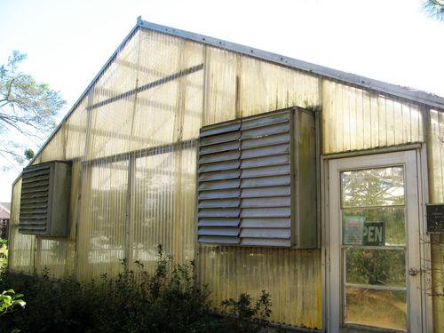 Massee Lane Camellia Gardens greenhouse