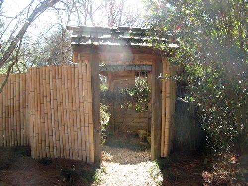 Massee Lane Camellia Gardens Japanese Garden entrance