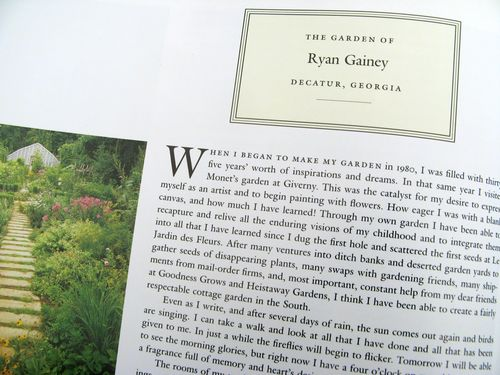 The American Man's Garden by Rosemary Verey Ryan Gainey