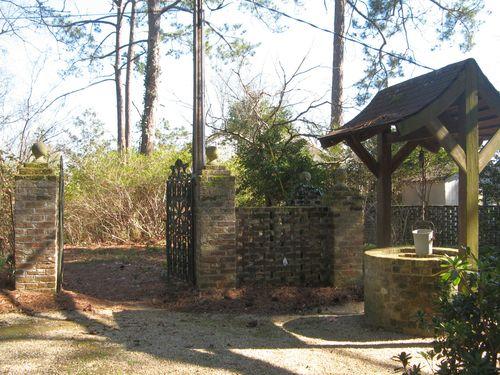 Massee Lane Camellia Gardens Wishing Well Iron Gates