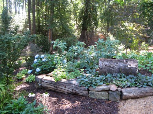 Henry County Georgia Garden Tour 2012 veg raised bed