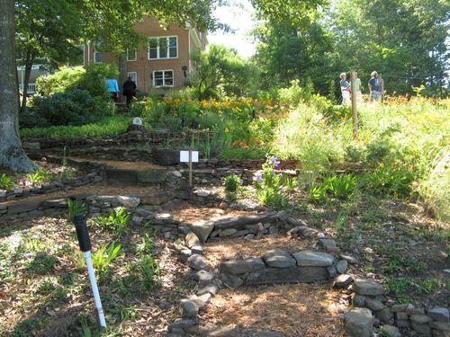 Dow Lake Henry County Georgia Garden Tour 2012 backyard path