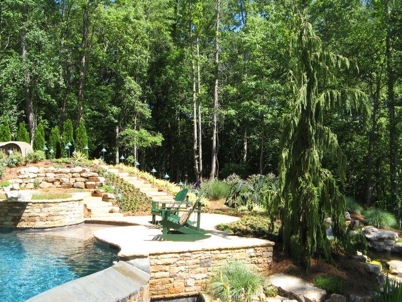 Garden Tour Henry County Georgia 2012 pool